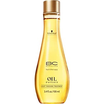 Schwarzkopf BC Bonacure Hairtherapy Oil Potion 3.4 oz / 100 ml Light Finishing
