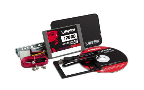 Kingston Technology 120GB 2.5 inch SSDNow V+200 SATA3 Solid State Drive Upgrade Bundle Kit