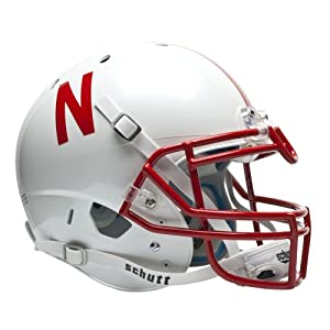 NCAA Nebraska Cornhuskers Authentic XP Football Helmet by Schutt