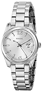Fossil Women's ES3582 Analog Display Analog Quartz Silver Watch