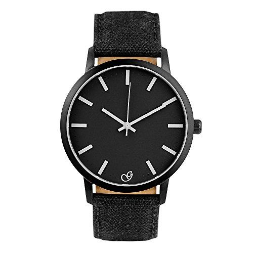gaxs-watches-jack-k-herren-armbanduhr-schwarz-mit-weissen-zeigern