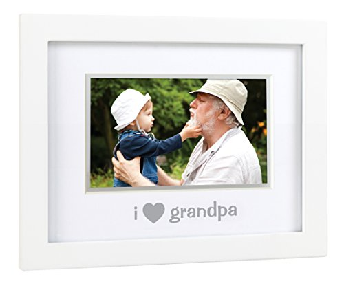 Pearhead Sentiment Frame, I Love Grandpa/White - 1