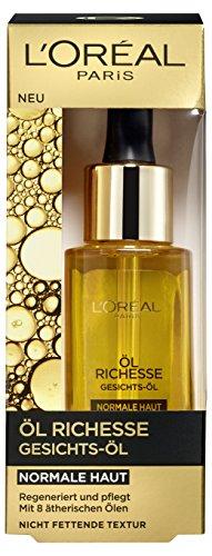 L'Oréal Paris Öl Richesse Gesichts-Öl für normale Haut, 1er Pack (1 x 30 ml) thumbnail