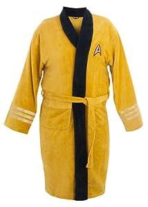 Star Trek Adult Captain Kirk Fleece Costume Bath Robe