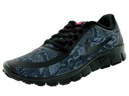 Nike W NK Free 5.0V4NS PT, donna,, (Anthracite Black 001), 41 EU