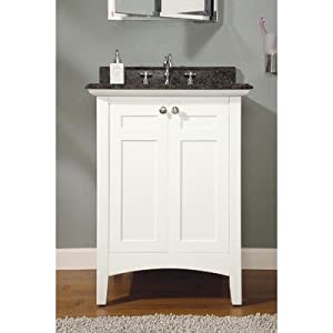 """Bundle-94 Biltmore Vanity in White (Set of 2) Size: 60"""" (Double Bowl)"""