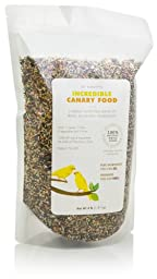 Dr. Harvey\'s Incredible Blend Natural Food for Canaries, 4-Pound Bag
