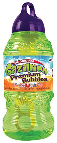 Gazillion Bubbles - Botella con solución de burbujas, 2 litros (Funrise Toy Corporation 35383)