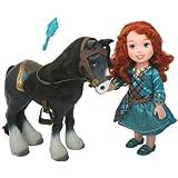My First Disney Princess Brave Merida with Angus Playset