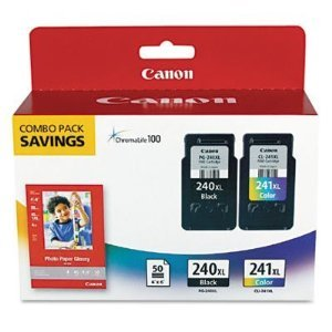 Canon PIXMA MG2120 Black & Color Ink Combo Pack (OEM)