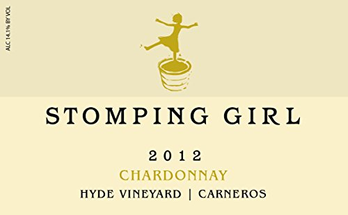 2012 Stomping Girl Chardonnay Hyde Vineyard Carneros Napa 750 Ml