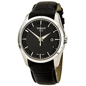 Tissot Couturier Black Dial Mens Watch T0354101605100