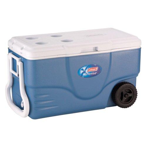 Coleman 62-Quart Xtreme Wheeled Cooler (Blue) front-918966