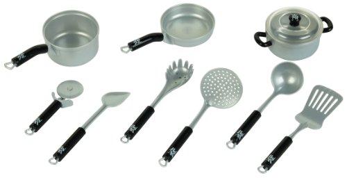 theo-klein-9428-wmf-topf-und-kuchengerate-set-9-teile-spielzeug
