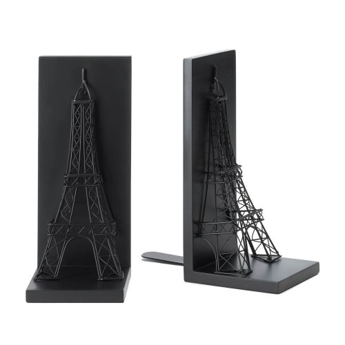 Eiffel Tower Bookends Tom & Co. B00GK83C3I