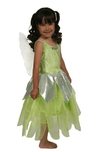Tinkerbell Fairy Deluxe Dress-up Costume - X-LARGE (7-9 yrs) [Toy]