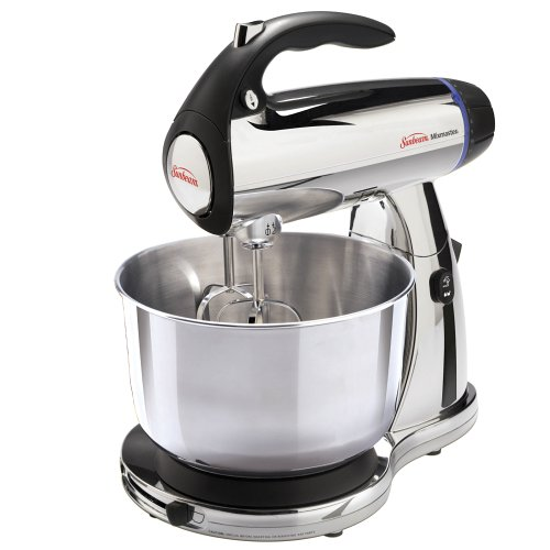 Sunbeam 2379 Mixmaster 300-Watt 12-Speed Stand Mixer with Stainless-Steel Bowl