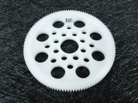 3Racing #3R/3Rac-Sg64116 64 Pitch Spur Gear 116T For Most Rc Cars