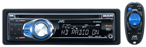 Jvc Kd-Hdr20 Single-Din Cd/Hd Radio/Mp3/Wma-Compatible Receiver With Remote Control And J-Bus Expandability