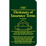Dictionary of Insurance Terms (Barron's Business Guides) ~ Harvey W. Rubin