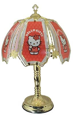 Hello Kitty Brass Touch Lamp