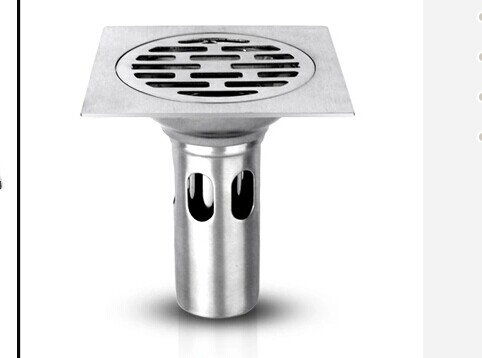 Stainless Steel Floor Drain Odor Pest Bathroom Kitchen Washing Machine Drain Cover