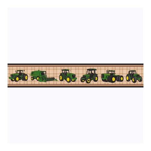 John Deere Tractor Wallpaper Border John Deere Traditional Tractor