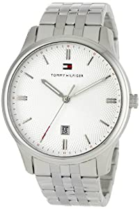 Amazon.com: Tommy Hilfiger Men's 1710283 Classic Stainless Steel