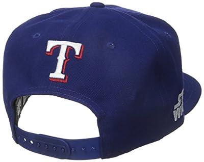 New Era Cap Men's Logo Swipe Texas Rangers Star Wars 9Fifty Snapback Cap
