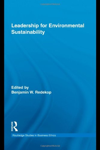 Leadership for Environmental Sustainability (Routledge