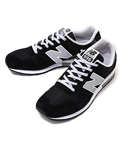 New Balance ( ニューバランス ) -ブラック- (メンズ レディース スニーカー シューズ 靴) 25.5cm ブラック