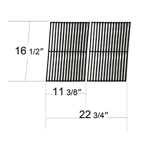 53502 - Ellipse, Kenmore, Prochef And Vermont Castings Gas Grill Porcelain Steel Wire Cooking Grid