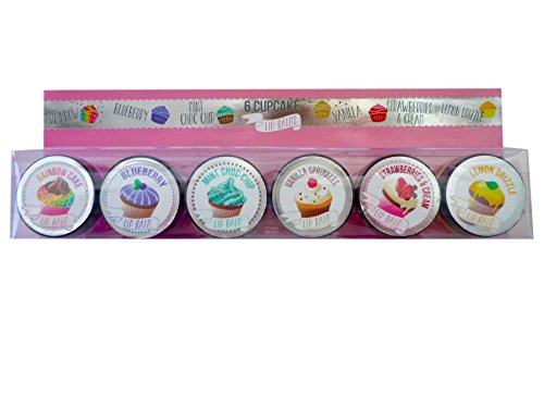 new-6-cupcake-lip-balm-gift-set