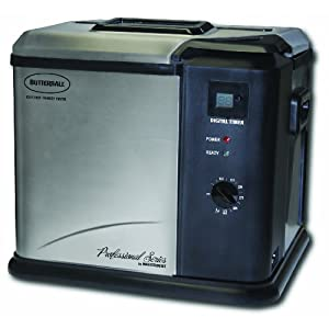 Masterbuilt 20010109 Butterball Professional Series Indoor Electric Turkey Fryer