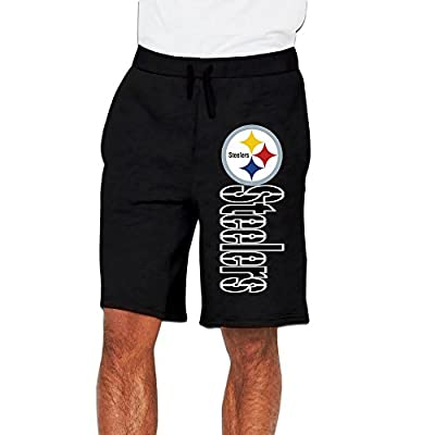 Men's Pittsburgh Steelers Bottom Shorts Sweatpants