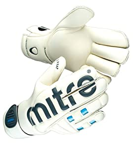 Mitre Gants de gardien de but Football Revolve Fp Role 11 Blanc