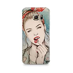 Mobicture Girl Abstract Premium Designer Mobile Back Case Cover For Samsung S6 Edge G9250