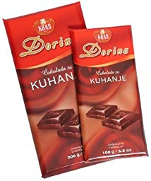 Cooking Chocolate, Dark, 300g