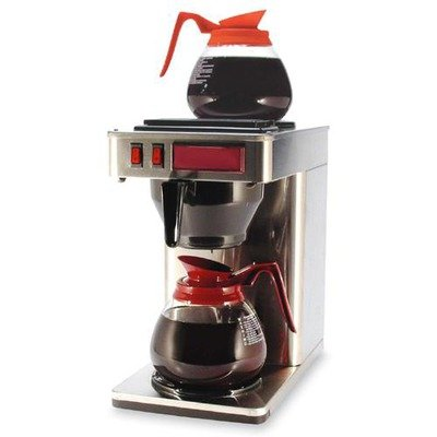 Coffee Pro Commercial Pour Over Brewer - Stainless Steel bask vinson pro v2