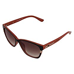 Eccellente Oval Sunglasses (Brown)- (ECCCL102111)