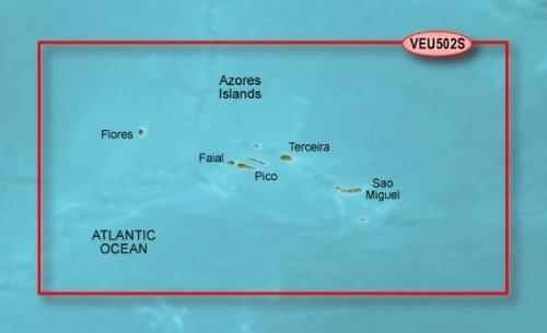 GARMIN BLUECHART G2 HXEU502S AZORES ISLANDS MICROSD & SD