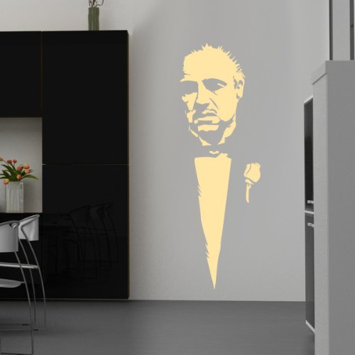 your design Soignant clair - Sticker mural - Beige, 35 x 106 cm