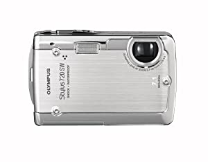 Olympus Stylus 720SW 7.1MP Ultra Slim Digital Camera with 3x Optical Zoom (Silver)