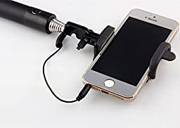 Bluetooth Selfie Stick with Remote Control for iPhone 6 Plus, iPhone 6, Samsung Galaxy and Note, Android Latest 2016 version