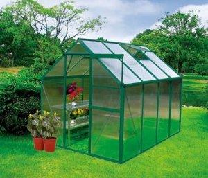 Lifetime Sheds: Earthcare Basic 6 x 8 Backyard Greenhouse Kit Get