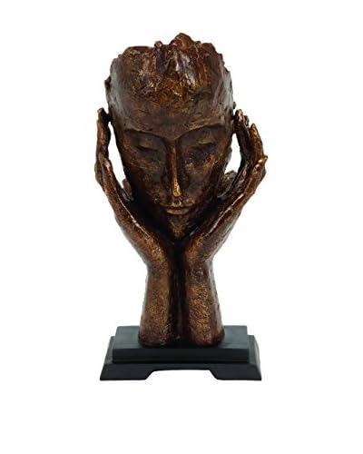 Deco 79 Polystone Meditator Sculpture