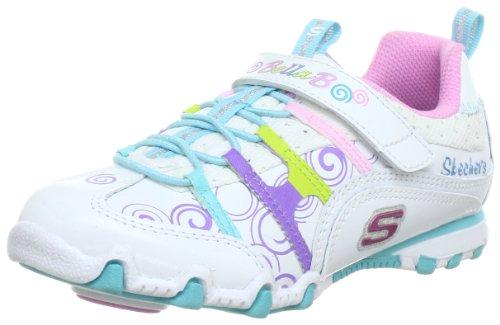 Skechers Bella BallerinaSpin Rider Trainers Girls White Weià (WMLT) Size: 37