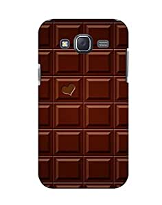 Pick Pattern Back Cover for Samsung Galaxy J5 (MATTE)