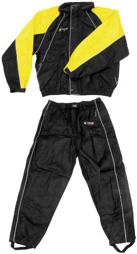 Frogg Toggs Hogg Togg Rainsuit , Distinct Name: Black/Yellow, Size: Sm, Primary Color: Black, Gender: Mens/Unisex FT10322-27-SM by Frogg Toggs