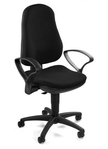 TOPSTAR 8540S G20 Bürodrehstuhl Support P schwarz mit Armlehnen